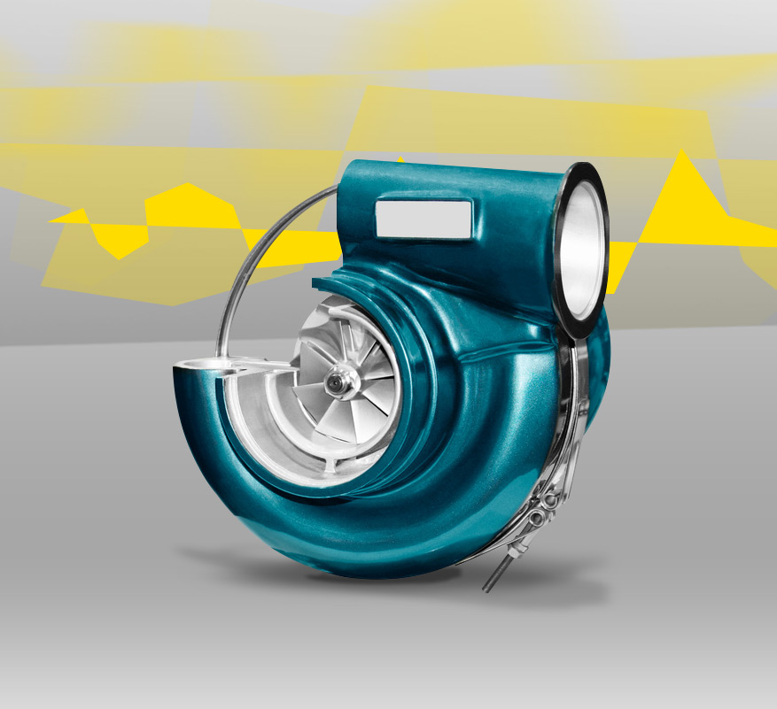 Motors for turbo compressors and generators
